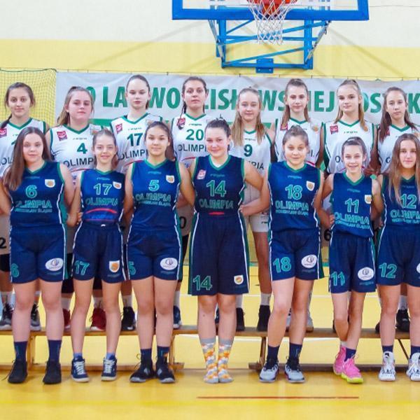 Koszykarski zespół dziewczyn